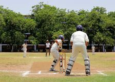 Cricket match Stock Images