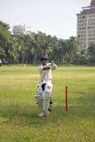 Cricket in Mumbai, India Royalty Free Stock Photo