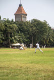 Cricket in Mumbai, India Royalty Free Stock Image