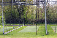 Cricket nets for practice. Stock Photography