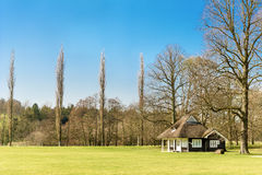 Cricket pavilion Royalty Free Stock Photography