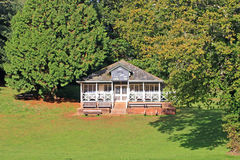 Cricket Pavilion Stock Image
