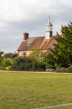The cricket pavilion in the University Parks in Oxford Stock Image