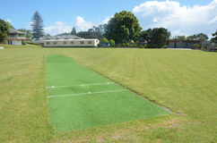Cricket pitch Royalty Free Stock Photography