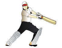 Cricket player Stock Photo