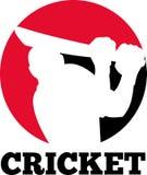 Cricket player batsman Stock Images