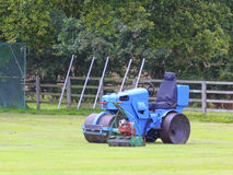 Cricket roller and mower Royalty Free Stock Photo
