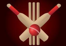 Cricket set Stock Image