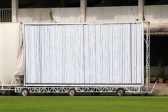 Cricket Sight Screen Stock Photos