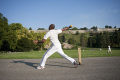 Cricket sport Royalty Free Stock Photography