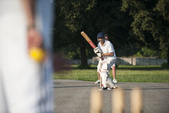 Cricket sport Stock Image