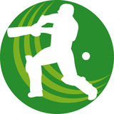 Cricket sports player Royalty Free Stock Photography