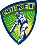 Cricket sports player batsman Stock Photography