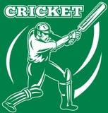 Cricket sports player batsman Stock Photo