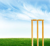 Cricket stumps Royalty Free Stock Photography