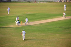 Cricket Tournament Match Royalty Free Stock Photos