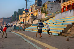 Cricket at Varanasi Royalty Free Stock Image