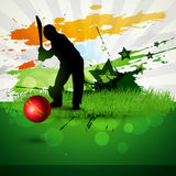 Cricket vector background