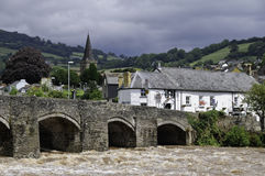 Crickhowell photo stock