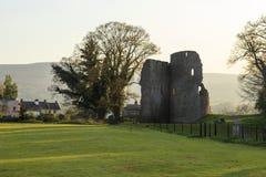 Crickhowell Castle Royalty Free Stock Photography