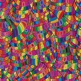 Cricle naadloos patroon Stock Fotografie