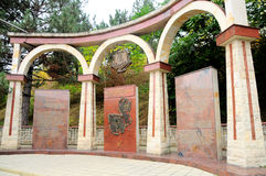 Cricova, Moldova 75 120 wytwórnia win 1950s przechwałek budowy lochu lochów wieka Chisinau nawracający cricova kopiący emporium e Fotografia Royalty Free