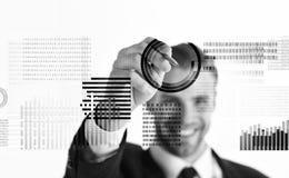 Crie a carteira cripto da moeda Moeda cripto de mineração Resolva o bloco ganham o lucro Tecnologia de Blockchain Futuro digital fotografia de stock
