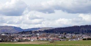Crieff, batida e montes da torreta, Perthshire, Escócia Imagens de Stock
