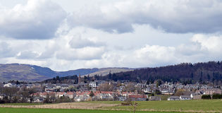 Crieff, Knock and Turret Hills, Perthshire, Scotland Stock Images