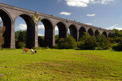 Crigglestone viaduct Arkivbild
