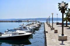 Crikvenica-Croacia imagen de archivo