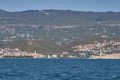 Crikvenica town, Croatia Stock Photos