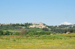 Crillon-le-Brave, typical village in Provence Royalty Free Stock Photography