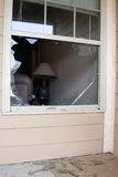 Crime. Criminals broke into home and stole, guns,laptop and jewelry, police dusted for prints Stock Images