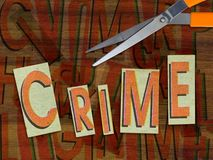 Crime Stock Image