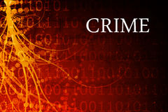 Crime. Abstract Background in Red and Black Royalty Free Stock Photo