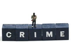 Crime Royalty Free Stock Photo