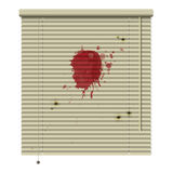 Crime blinds Stock Photo