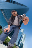 Crime in the city Royalty Free Stock Photography