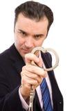 Crime d'affaires photo libre de droits