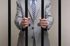 Crime d'entreprise Image libre de droits
