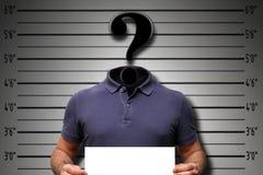 Crime de cyber de pirate informatique Photo stock