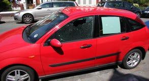 Crime do carro Imagem de Stock