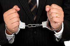 Crime do negócio Imagem de Stock Royalty Free