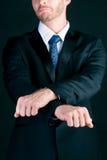 Crime do negócio - gerente Imagens de Stock Royalty Free