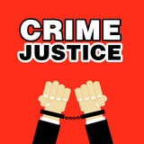 Crime justice Stock Photos