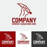 Crime logo Stock Image