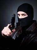 Crime man Stock Image