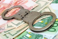 Crime and Money Stock Photography