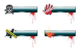 Crime Nav Bars 2 Stock Photo